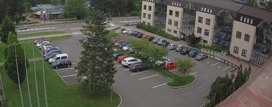 Chytré parkoviště v Třinci