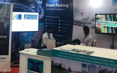 Live demo of ParkingDetection at Smart Cities India 2019
